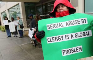 Survivors Of Sexual Abuse By Priests Hold Press Conference In San Francisco