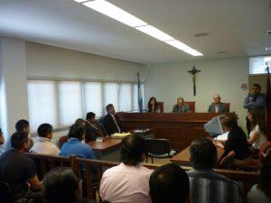 Sala II del Tribunal de Juicio abuso