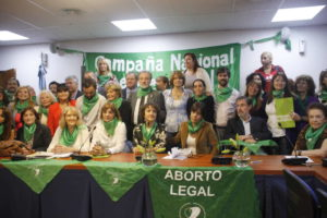 Aborto legal congreso