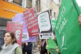 aborto protesta nena violada