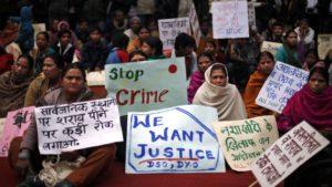 violacion en india politica
