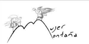 mujer montaña logo