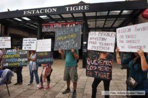 Tigre protestas