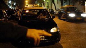 taxi violacion