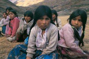 niñas bolivianas