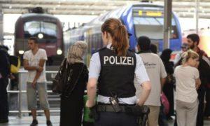 policia_alemana_refugiados