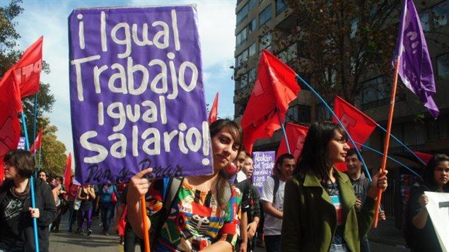 brecha salarial a latina