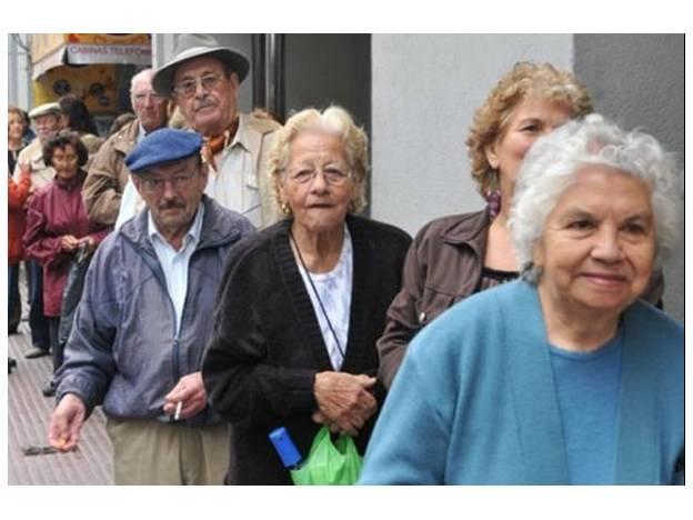 fila jubilados
