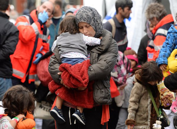 niños refugiados unicef