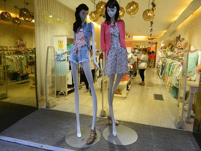 Maniquíes-anoréxicos