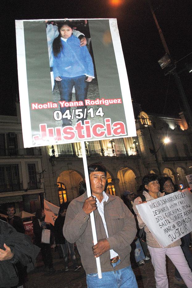 justicia por noelia rodriguez