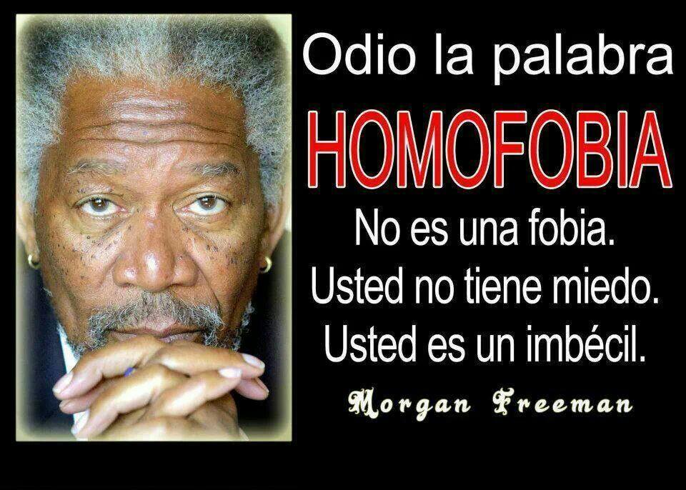 Mensajes contra la discriminacion homosexual