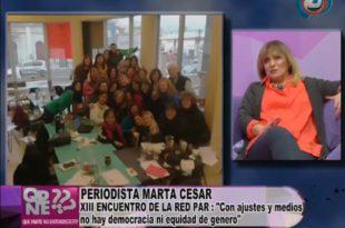 XIII Encuentro Nacional de la Red Par en Salta